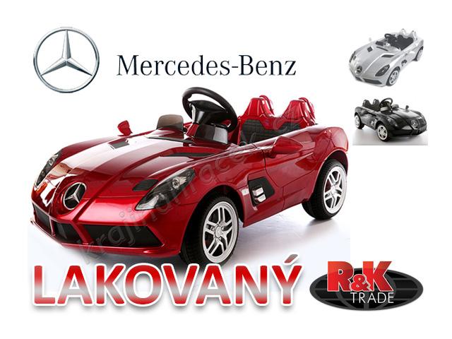 Dětské elektrické autíčko auto Mercedes-Benz SLR McLaren sport lakovaný