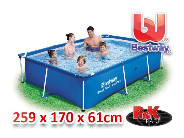 Bestway zahradní bazén 259/170/61 cm 56403