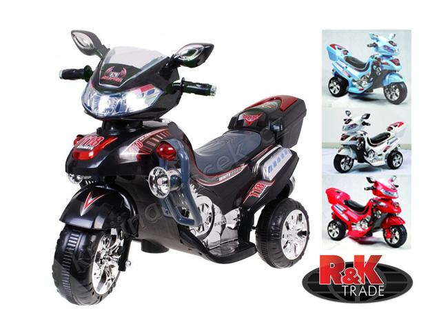 Veliká dětská motorka skútr pro děti