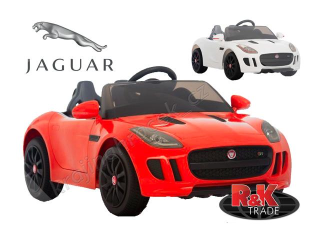 Dětské elektrické autíčko auto jaguar F-TYPE