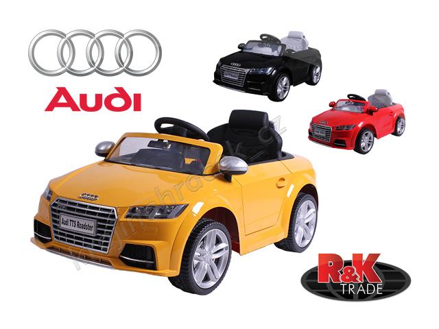 Dětské elektrické auto autíčko Audi TTS ROADSTER lakovaný