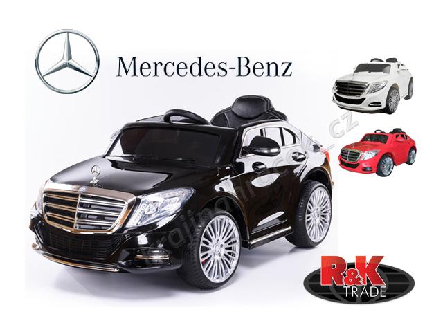 Dětské elektrické autíčko auto Mercedes-Benz S600 eko kůže