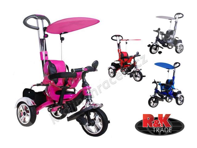 Dětské kolo tříkolka Sport Trike KR-03 Air nafukovací kola pro děti