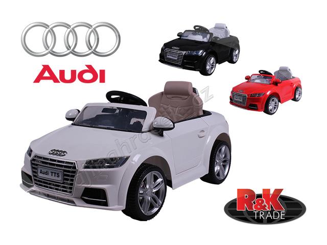 Dětské elektrické auto autíčko Audi TTS ROADSTER