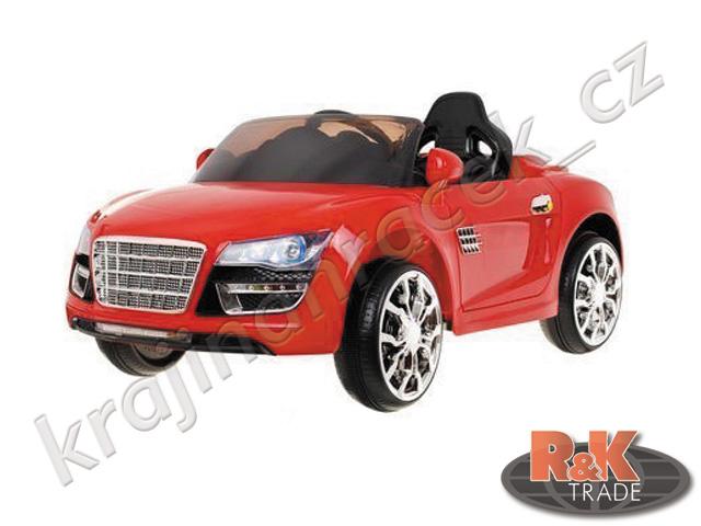 Dětské elektrické autíčko sportovní auto otevíratelné dveře