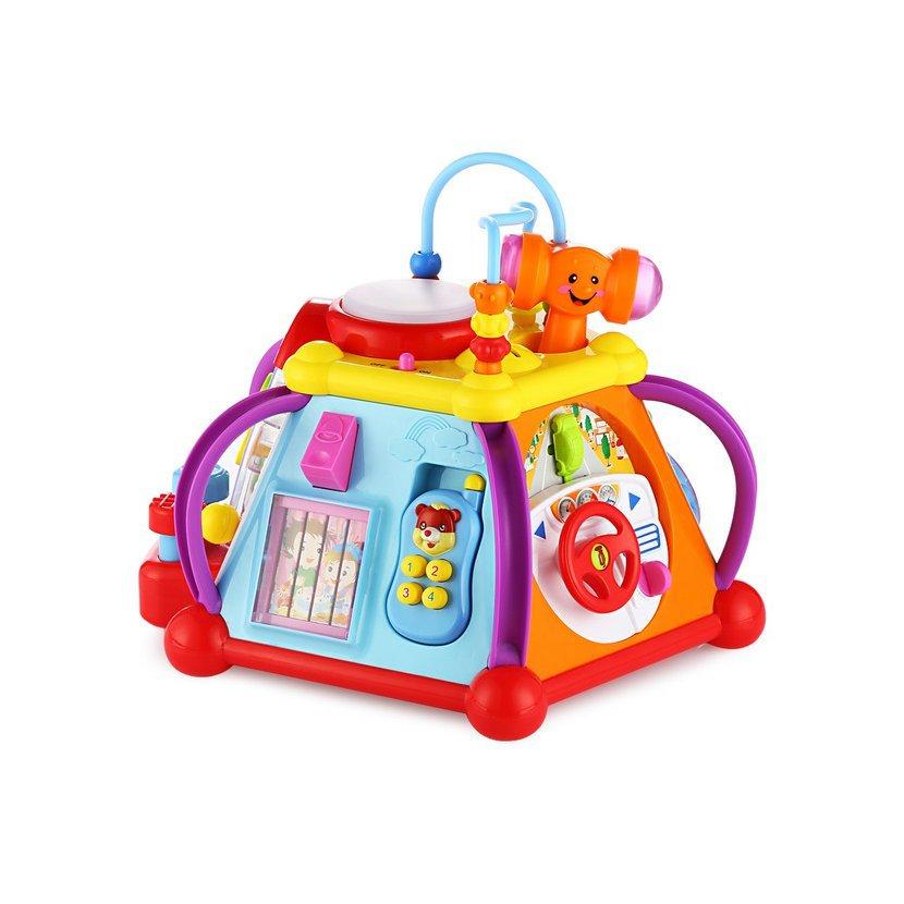 Huile Toys multifunkční kostka pro nejmenší