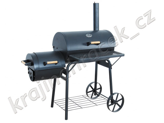Profesionální zahradní gril udírna BBQ