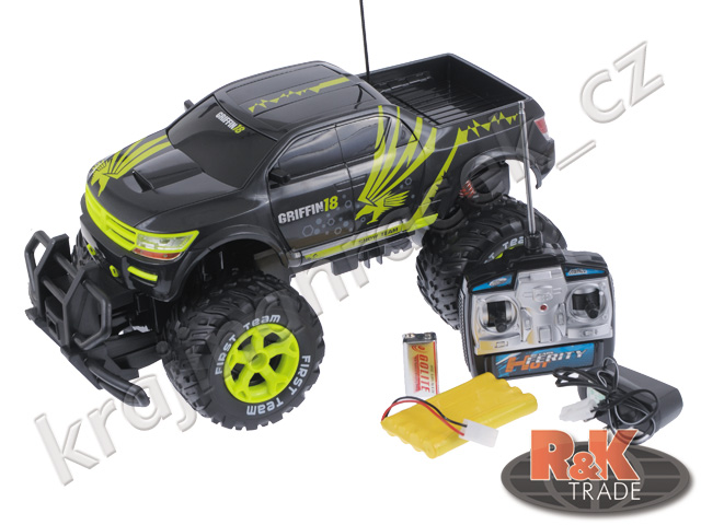 Terénní auto Monster Truck Griffin 1:12 na dálkové ovládání RC