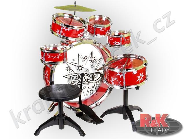 Dětské bubínky bubny bicí velká sada