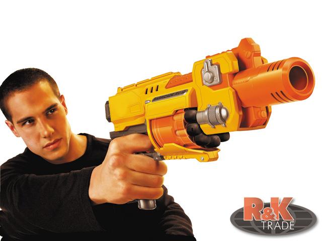 Dětský samopal pistole Raging Fire 7006