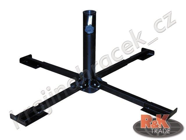 Stoján na slunečník kovový pro průměr 32 - 36 mm