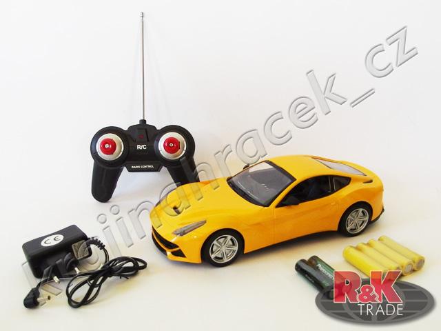 Ferrari berlinetta auto autíčko na dálkové ovládání R/C