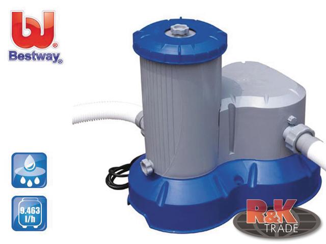 Bestway čerpadlo kartušová filtrace 9463 l 58391