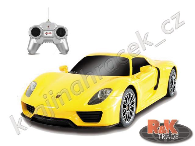 Rastar Porsche 918 Spyder 1:24 auto autíčko na dálkové ovládání R/C