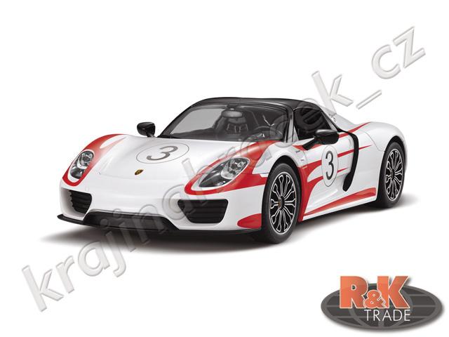 Rastar Porsche 918 Spyder Weissach 1:14 auto autíčko na dálkové ovládání R/C