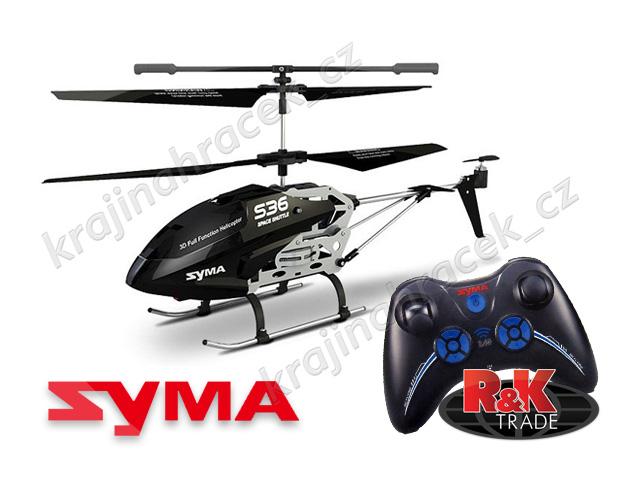 Vrtulník SYMA S36 helikoptéra na dálkové ovládání R/C