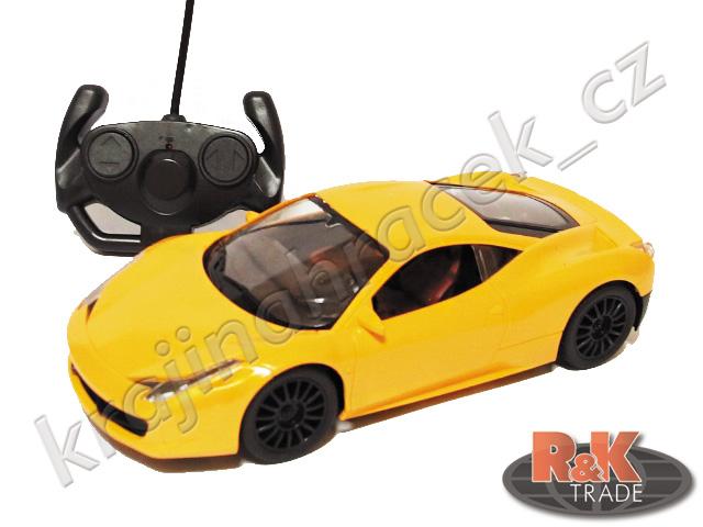 Auto sportovní autíčko na dálkové ovládání R/C 1:16
