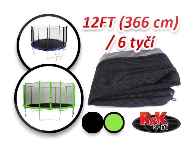 Náhradní síť na trampolínu 366 cm 12´´ 6 tyčí