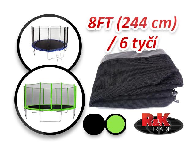 Náhradní síť na trampolínu 244 cm 8´´ 6 tyčí