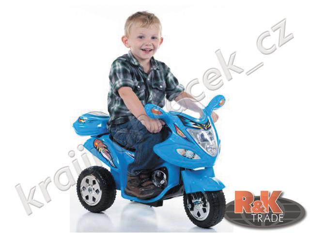 Dětská elektrická motorka skútr