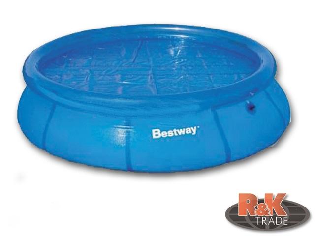 Bestway solární plachta průměr 250 cm na bazén s límcem 305 cm 58061