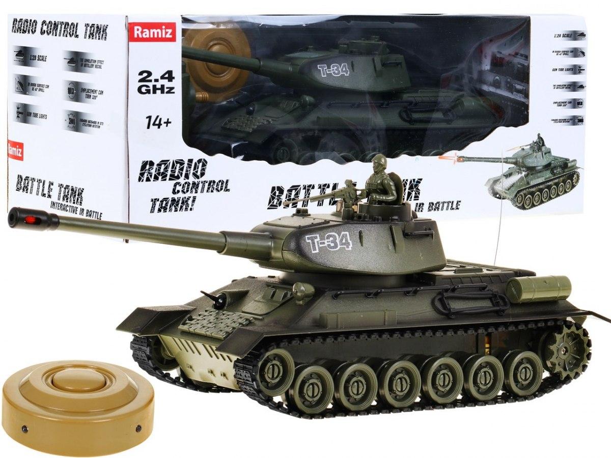 Tank na dálkové ovládání RC T34