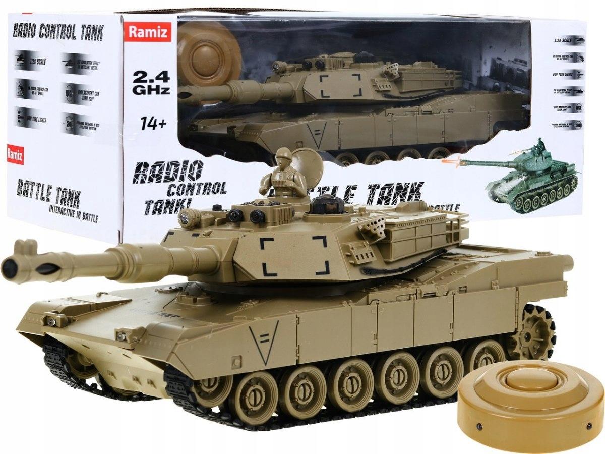 Tank na dálkové ovládání RC M1 ABRAMS