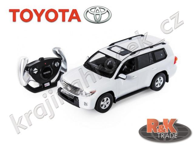 Rastar Toyota Land Cruiser 1:16 auto autíčko na dálkové ovládání R/C