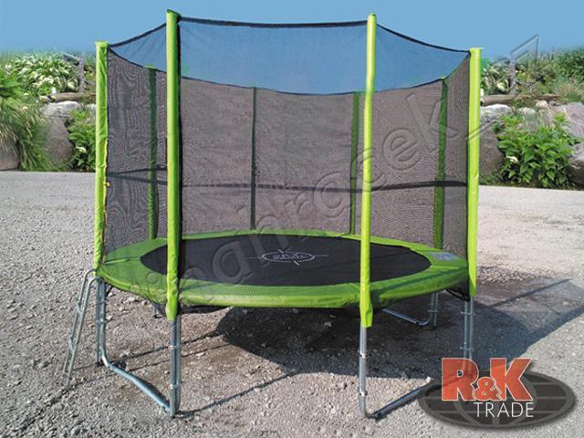 Zelená zahradní trampolína 8FT 244 cm
