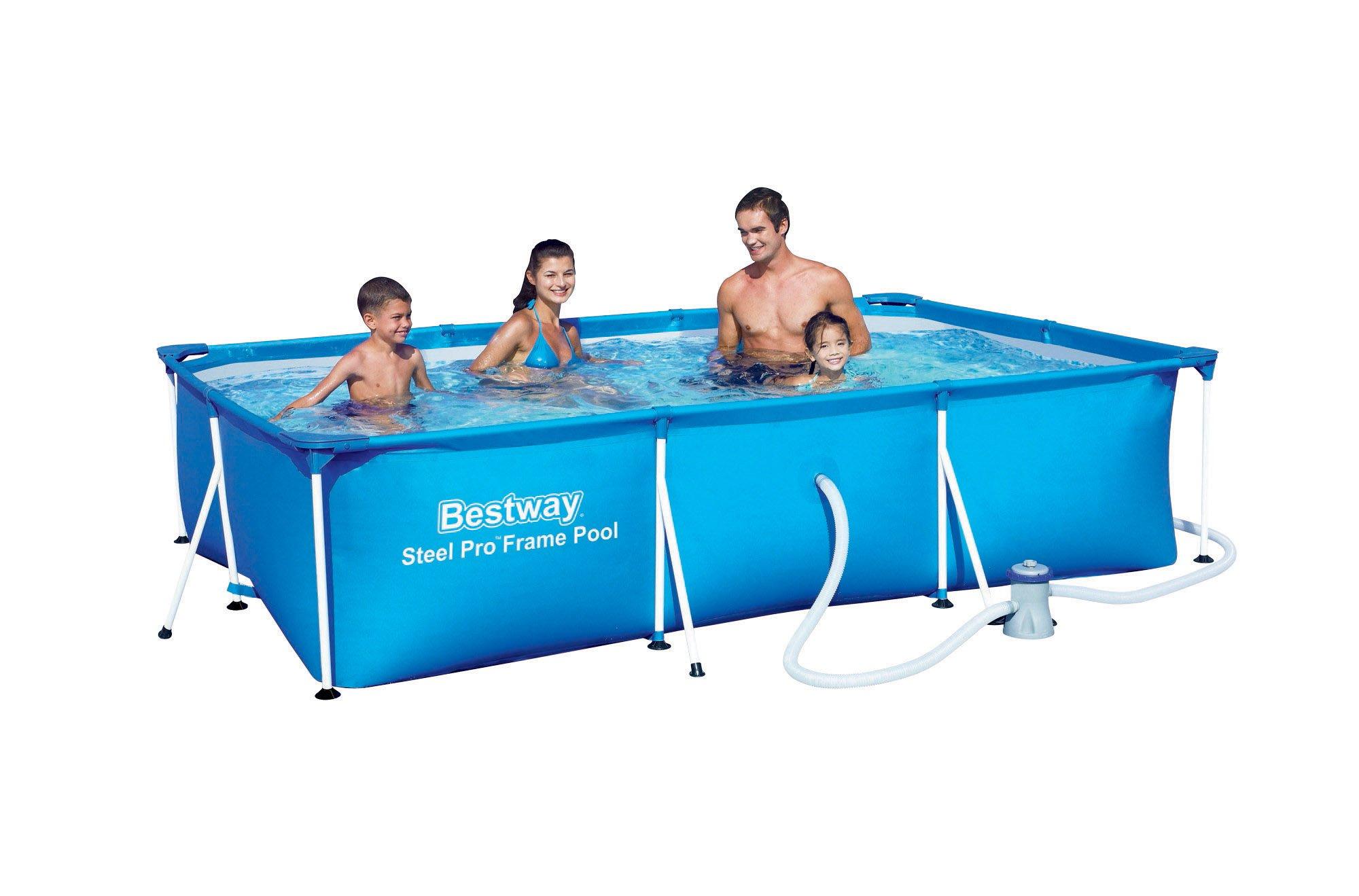 Bestway bazén s konstrukcí 300 x 201 x 66 cm 3 v 1 56411