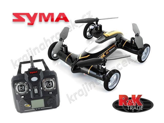 Quadrocopter hybridní dron RC SYMA X9 2v1 2,4GHz na dálkové ovládání R/C