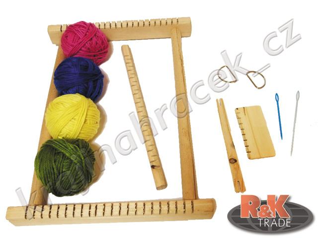 Dětský tkalcovský stav sada pro pletení dětské pletení